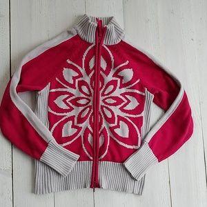 Athleta zip-up sweater